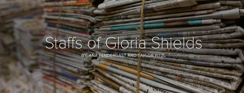 The staffs of Gloria Shields