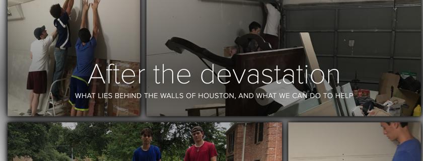 After the devastation of Hurricane Harvey